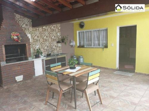 Imagem 1 de 18 de Casa Com 2 Dormitórios À Venda, 189 M² Por R$ 480.000,00 - Jardim Vitória - Campo Limpo Paulista/sp - Ca0407
