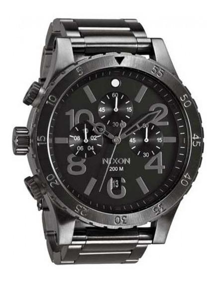 Relógio Nixon 48-20 Chrono All Gunmetal Masculino