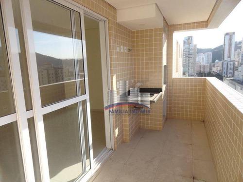 Imagem 1 de 30 de Apartamento Com 2 Dormitórios À Venda, 101 M² Por R$ 810.000,00 - Gonzaga - Santos/sp - Ap6245