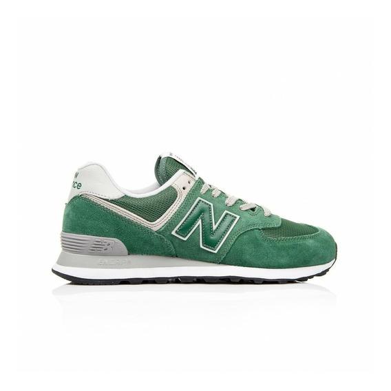 Zapatilla New Balance Ml574egr Urbanas Hombre Verde Moda