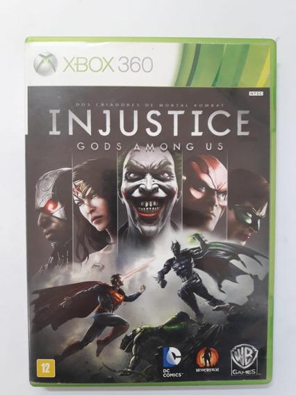 Injustice Gods Amongs Xbox 360 Original Em Midia Fisica