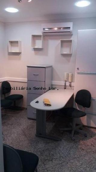 Sala Comercial Para Venda Em Osasco, Vila Osasco, 2 Dormitórios, 1 Banheiro, 1 Vaga - 2368