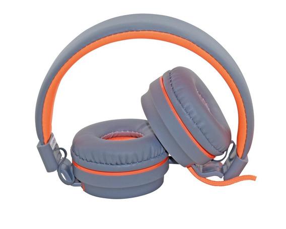 Fone De Ouvido Neon Headset Oex Hs106 Laranja