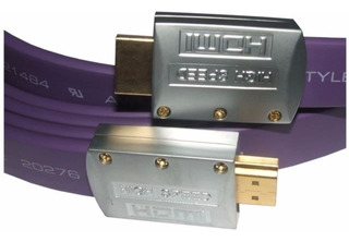 El Mejor Cable Hdmi 4k 5 Metros V2.0 Plano Oro 60hz