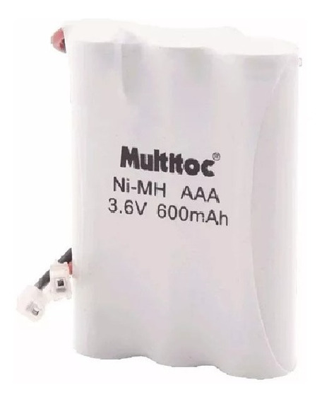Bateria Recarregável Aaa 3,6v 600 Mah Multitoc
