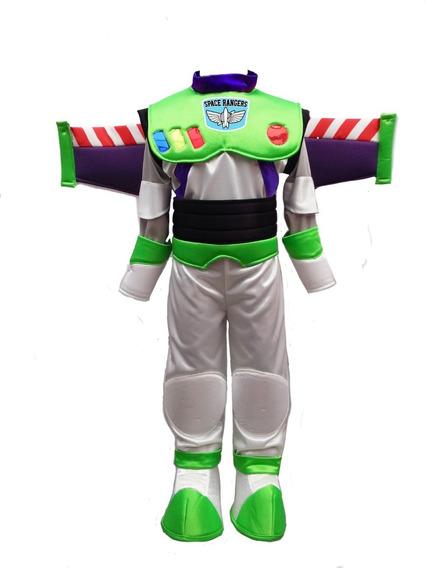 Disfraz Tipo Buzz Lightyear Con Alas Mochila Talla 1-10