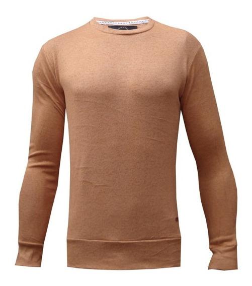 Sweater De Lanilla Entallado Elastizado-import Design