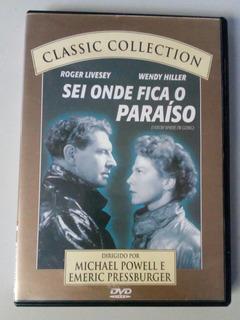 Dvd Filme Sei Onde Fica O Paraíso - Frete 11,00!