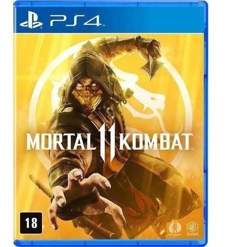 Mortal Kombat 11 Ps4 Com Dlc Kano Mídia Física Lacrado Ptbr
