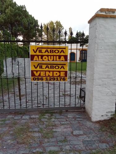 Casa Colonial En Una Planta Con Estilo Casco Estancia Calida