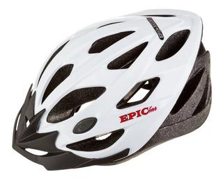 Capacete Ciclismo Mtb Speed Epic Line Mv23 Branco