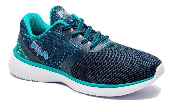 Zapatilla Fila Running Mujer Footwear Sweet Azul