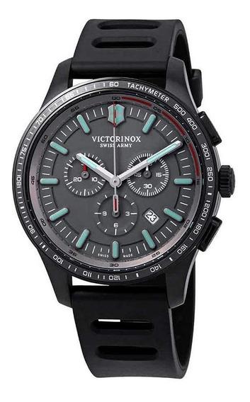 Relógio Victorinox 241818 Alliance Sport Crono Preto Origina