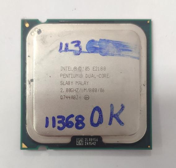 Processador 05 E2180 Pentium Dual Core 2.00ghz De Repasse
