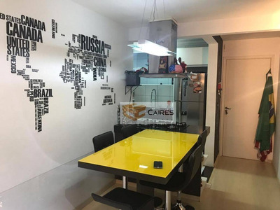 Apartamento Com 2 Dormitórios À Venda, 47 M² Por R$ 200.000 - Loteamento Parque São Martinho - Campinas/sp - Ap5469