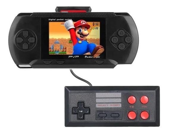 Game Portatil Retro 160 Jogos + Controle Jogar Tv + Cartão
