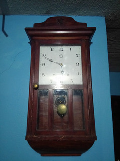 Reloj De Pared Antigüo 2 Cuerdas