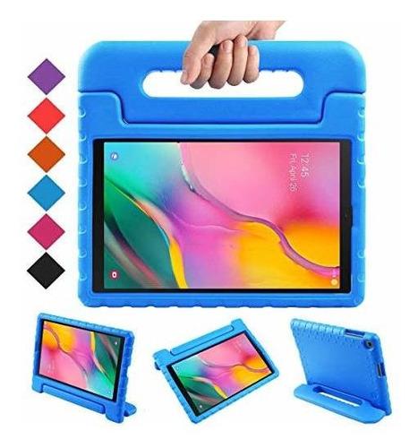 Bmouo-funda Con Asa Para Galaxy Tab A 10.1 2019, Azul