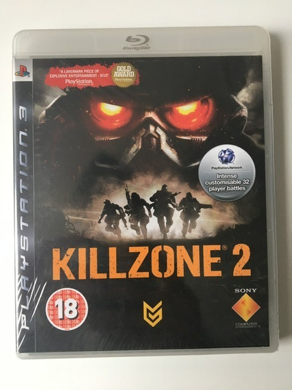 Killzone 2 Ps3 Original Mídia Física