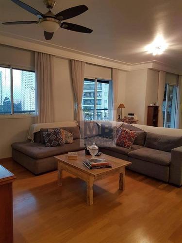 Imagem 1 de 30 de Apartamento Com 4 Dormitórios À Venda, 170 M² Por R$ 1.600.000,00 - Santo Amaro - São Paulo/sp - Ap4032