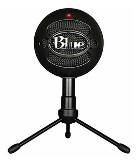 Blue Microphones Snowball Ice Black Negro Micrófono Pc Veget