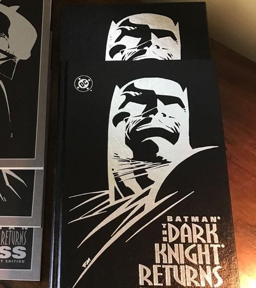 Batman O Cavaleiro Das Trevas Autografado Frank Miller Dkr