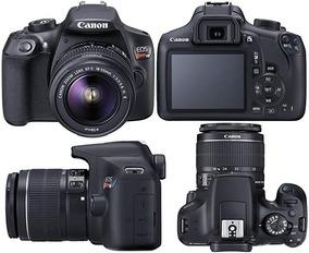 Câmera Canon T6 18-55mm + Mochila + Rádio Flash Yn 622c