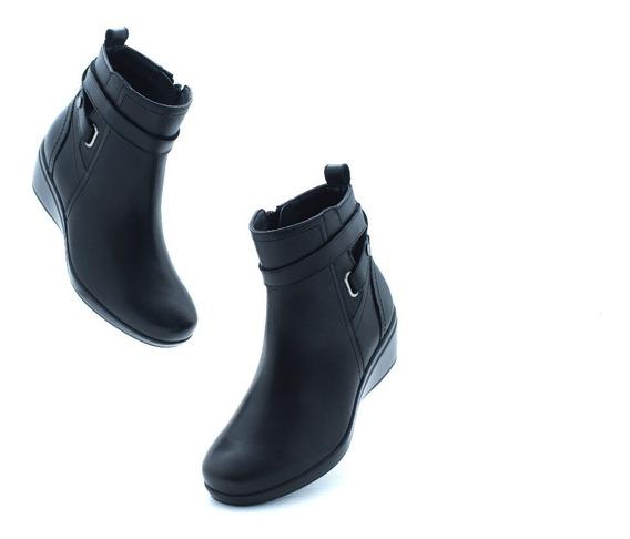 Bota Dama Casual Confort Flexi 45212 Negro 100% Originales