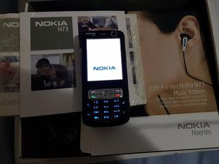 Celular Nokia N73 Lg Sony Samsung Siemens Colecionador Raro