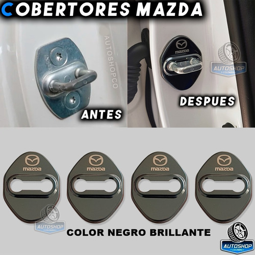 Cobertores Chapa Puerta Mazda Negros