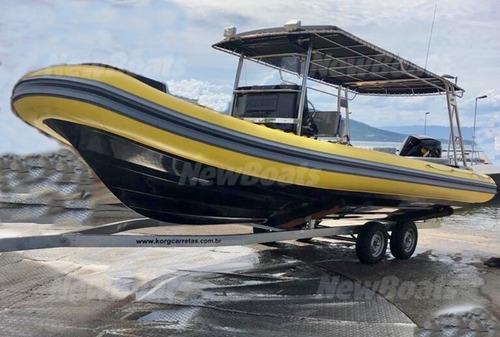 Flexboat 760 - 2020 Com Apenas 28 Horas Motor 4 Tempos