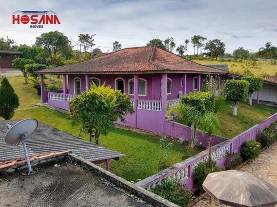 Chácara Com 5 Dormitórios À Venda, 5500 M² Por R$ 690.000,00 - Bairro Da Vargem Grande - Franco Da Rocha/sp - Ch0039