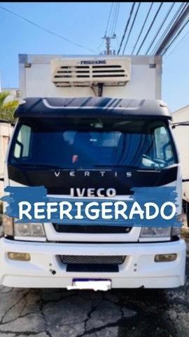 Imperdível! Iveco /vertis Refrigerado 2012 90v16 Com Ganchos
