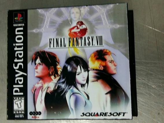 Jogo De Ps1 - Final Fantasy 8 (patch) Português