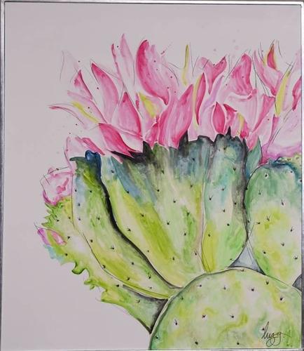 Imagen 1 de 4 de Cuadro Decorativo Cactus 1 Këssa Muebles