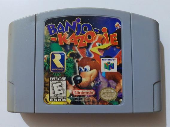 Banjo Kazooie N-64 Original Americano!! Cartucho 100% Ok!!