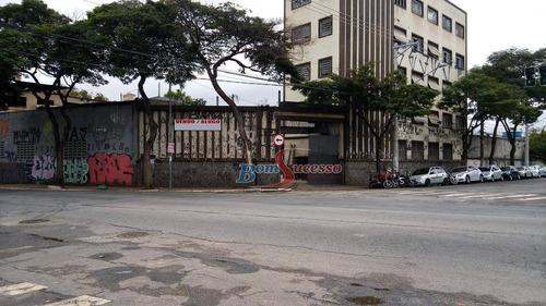 Imagem 1 de 11 de Terreno À Venda, 1900 M² Por R$ 18.000.000,00 - Cambuci - São Paulo/sp - Te0432