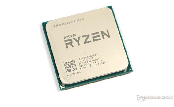 Amd Ryzen 5 1400 4 Nucleos - 3200 Mhz - 65 Watts