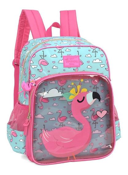 Mochila Up4you Flamingo De Costas Is34211up