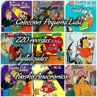 Colección Pequeña Lulú Antiguas Revistas Digitalizadas