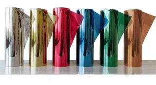 Papel Polarizado Espejo Colores Tuning Auto Ventana Casa