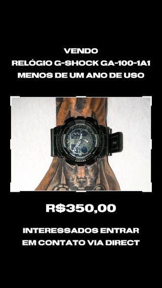 Vendo Relógio G-shock Ga-100-1a1