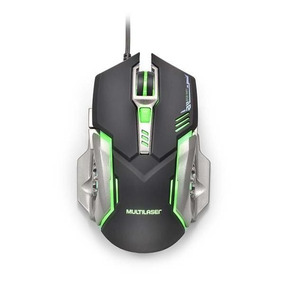 Mouse Gamer Led 7 Botões 2400 Dpi Multilaser