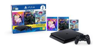 Console Playstation 4 Slim Hits Bundle 11 1tb Mega Pack