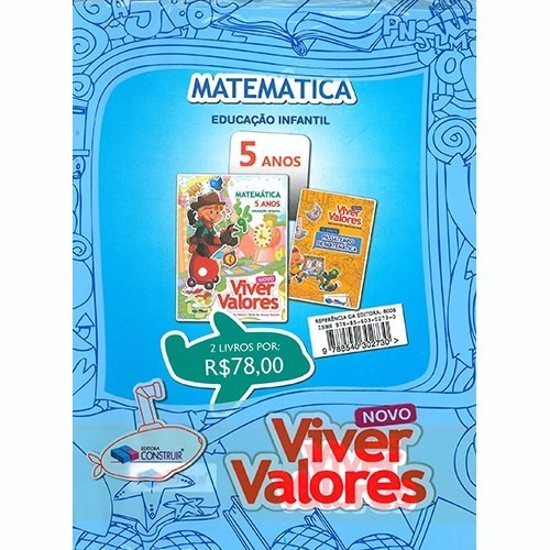 Kit Viver Valores 5 Anos - Mat / Natu E Soc