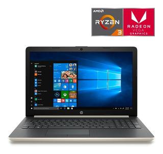 Laptop Hp Ryzen 3 8gb Ram Ssd 256gb 15-db1078lm + Regalos!