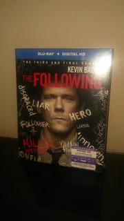 Blu Ray Serie The Following Season 3 (con Cover) Sellado