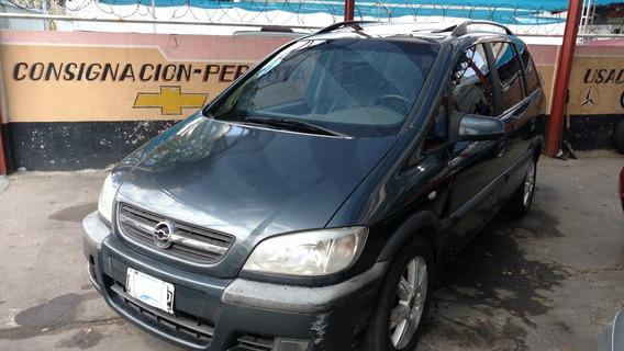 Chevrolet Zafira 2.0 Gls 2007, Cuero Y Techo, 7 Asientos!!!