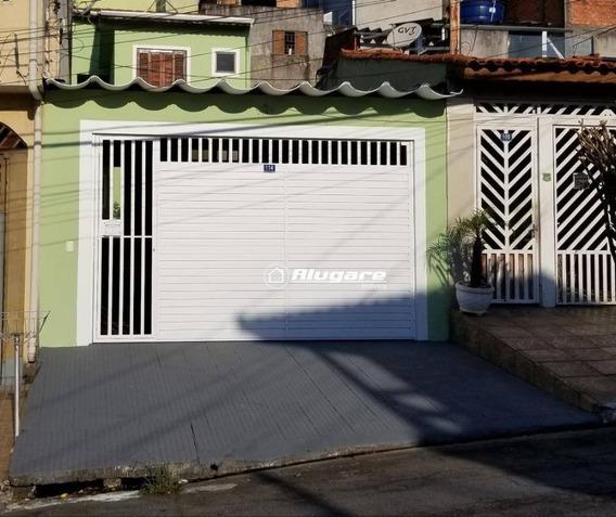 Sobrado Para Alugar, 140 M² Por R$ 2.300/mês - Parque Continental I - Guarulhos/sp - So0563