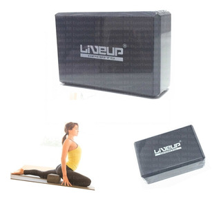 Bloco Yoga Eva Liveup 22,8 X 15,2 X 7,6 Pilates Fitness